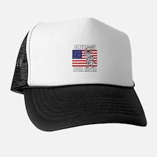 American Bull Rider Trucker Hat