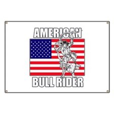 American Bull Rider Banner