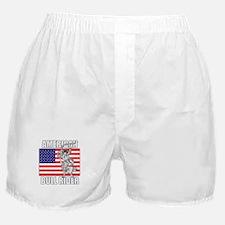 American Bull Rider Boxer Shorts