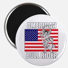 "American Bull Rider 2.25"" Magnet (10 pack)"