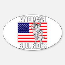 American Bull Rider Decal
