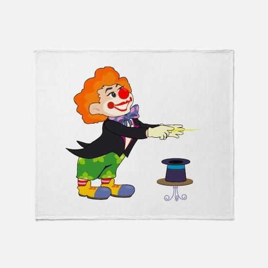 Clown Throw Blanket