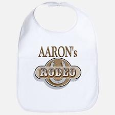 Aaron's Rodeo Personalized Bib