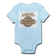 Aaron's Rodeo Personalized Infant Creeper