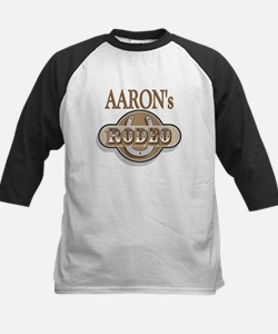 Aaron's Rodeo Personalized Kids Baseball Jersey