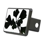 Ginko Tree Leaves Rectangular Hitch Cover