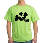 Ginko Tree Leaves Green T-Shirt