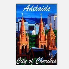 Adelaide City of Churches Postcards (Package of 8)