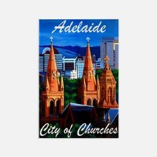 Adelaide City of Churches Rectangle Magnet