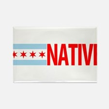 Chicago IL Native Rectangle Magnet