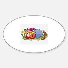 Clown Sticker (Oval)