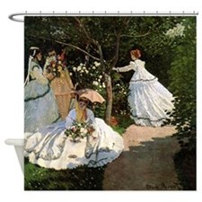 Monet Women In The Garden Shower Curtain