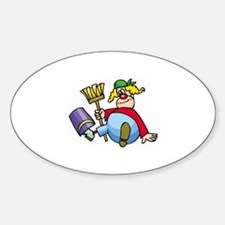 Clown Decal