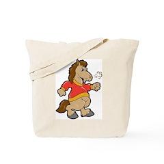 Angry Horse Tote Bag