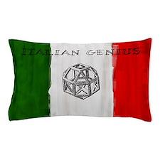 Italian Genius Flag Pillow Case