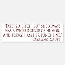 Darling Bumper Bumper Sticker