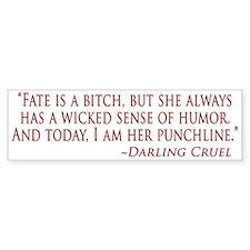 Darling Bumper Sticker