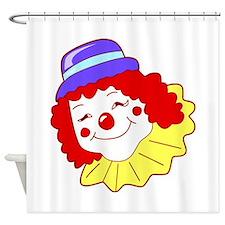 Clown Shower Curtain