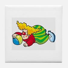 Clown Tile Coaster