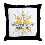 Immortal2 Throw Pillow
