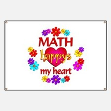 Happy Math Banner