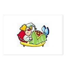 Clown Postcards (Package of 8)