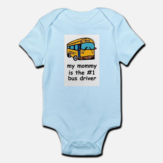 MY MOMMY IS #1BUS DRIVER Infant Creeper