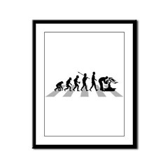 Bonsai Lover Framed Panel Print