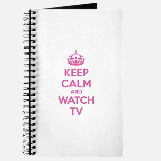 Keep calm and watch tv Journal