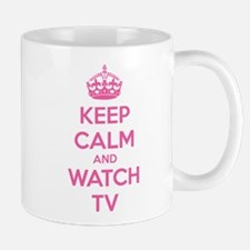 Keep calm and watch tv Mug