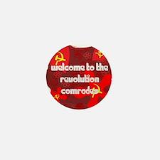 Funny Comrade Mini Button