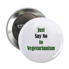 "Just Say No 2.25"" Button (10 pack)"