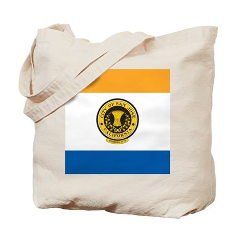 San Jose Flag Tote Bag