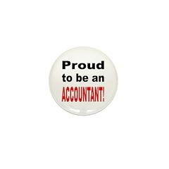 Proud Accountant Mini Button