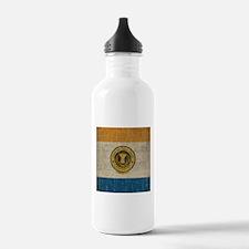 Vintage San Jose Flag Water Bottle