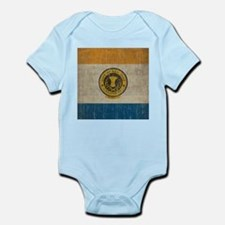 Vintage San Jose Flag Infant Bodysuit