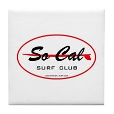 So Cal Surf Club Tile Coaster