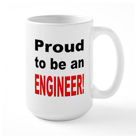 Proud Engineer Large Mug