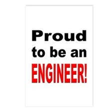 Proud Engineer Postcards (Package of 8)