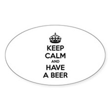 Keep calm and have a beer Decal
