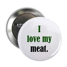 "Love Meat 2.25"" Button (10 pack)"