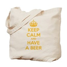Keep calm and have a beer Tote Bag
