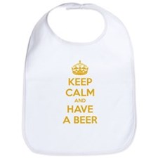 Keep calm and have a beer Bib