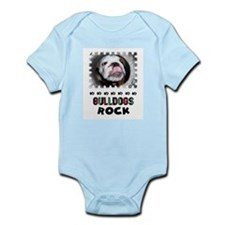 BULLDOGS ROCK Infant Creeper