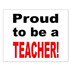 Proud Teacher Posters