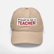 Proud Teacher Baseball Baseball Cap