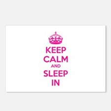 Keep calm and sleep in Postcards (Package of 8)