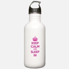 Keep calm and sleep in Water Bottle