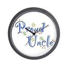 Proud Uncle Wall Clock