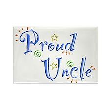 Proud Uncle Rectangle Magnet